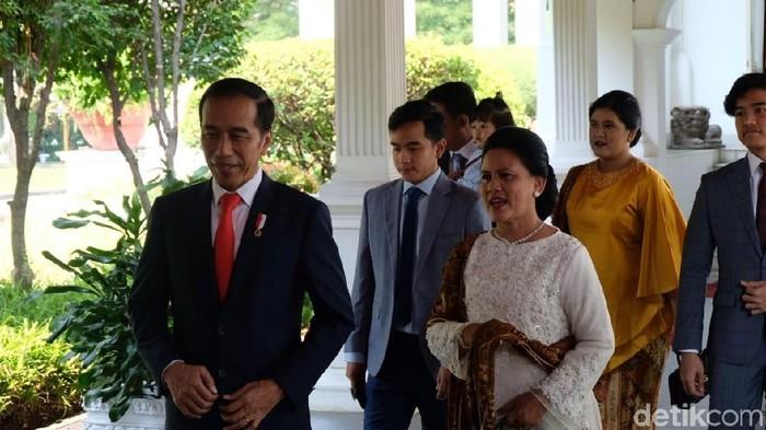 Jokowi berangkat ke pelantikan (Andhika/detikcom)