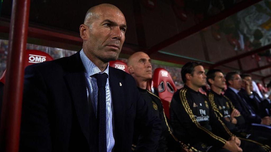 Madrid Kalah, Zidane: Cedera Bukan Alasan
