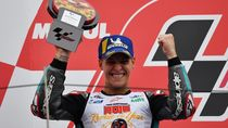 Fabio Quartararo Raih Rookie of The Year MotoGP 2019