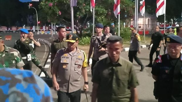 Kapolda Metro Jaya, Irjen Gatot Eddy Pramono di Taman Pandang, Jakpus.