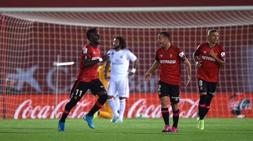 Real Mallorca Vs Real Madrid: Dapat Kartu Merah, Los Blancos Keok 0-1