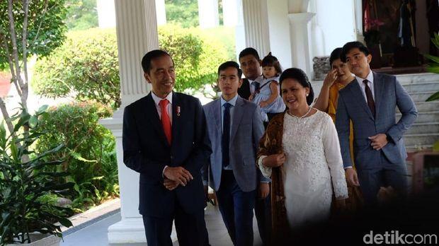 Presiden Joko Widodo (Jokowi) sebelum pelantikan /