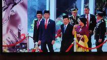 Momen Terakhir Jokowi-JK Berdampingan sebagai Presiden-Wapres
