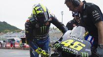 Rossi yang Malang di Jepang: Crash dan Disalip Quartararo di Klasemen MotoGP