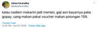 Nadiem Makarim Jadi Menteri Jokowi, Netizen Tanggapi Kocak