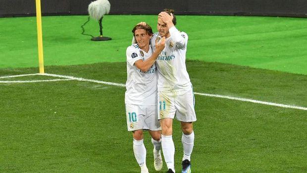 Luka Modric dan Gareth Bale sama-sama cedera saat di tim nasional.