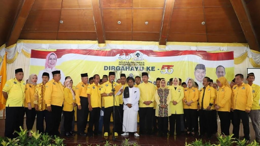DPP Golkar Serang Sepakat Kembali Usung Ratu Tatu Jadi Calon Bupati