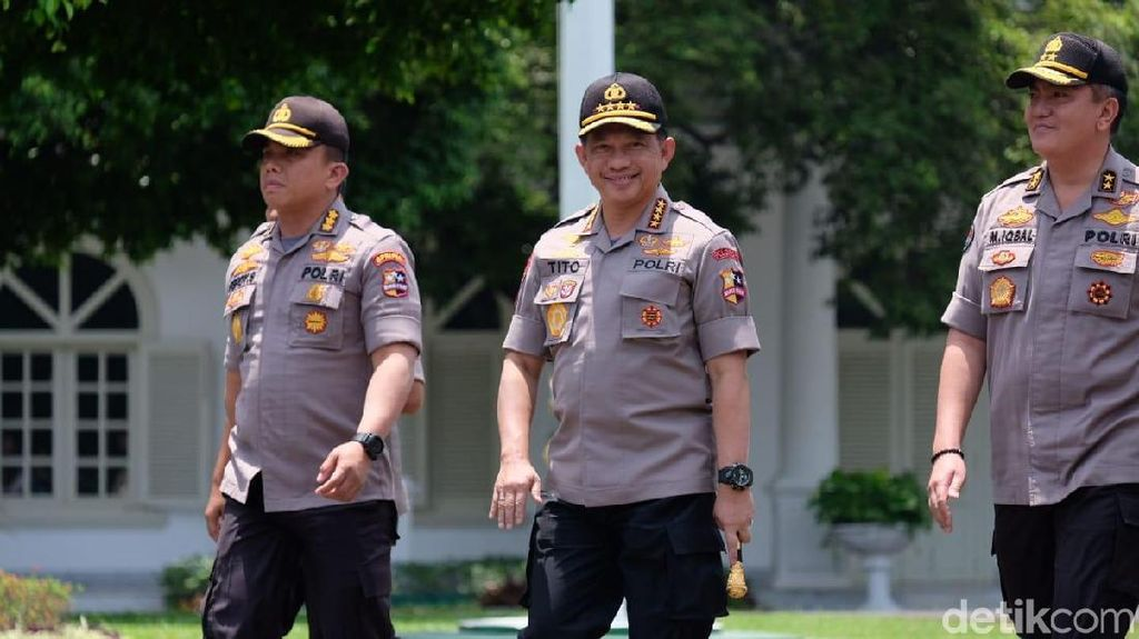 Kapolri Jenderal Tito Karnavian Merapat ke Istana, Jadi Menteri?