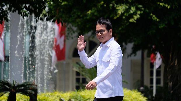 Wishnutama di Istana Negara