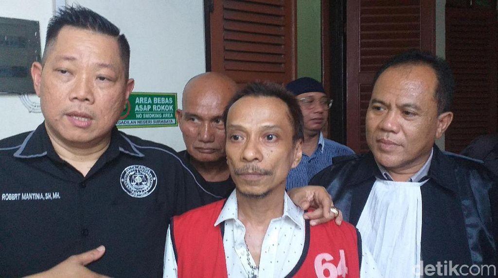 Kasus Ganja, Bassist Boomerang Hubert Henry Dituntut 2 Tahun Penjara