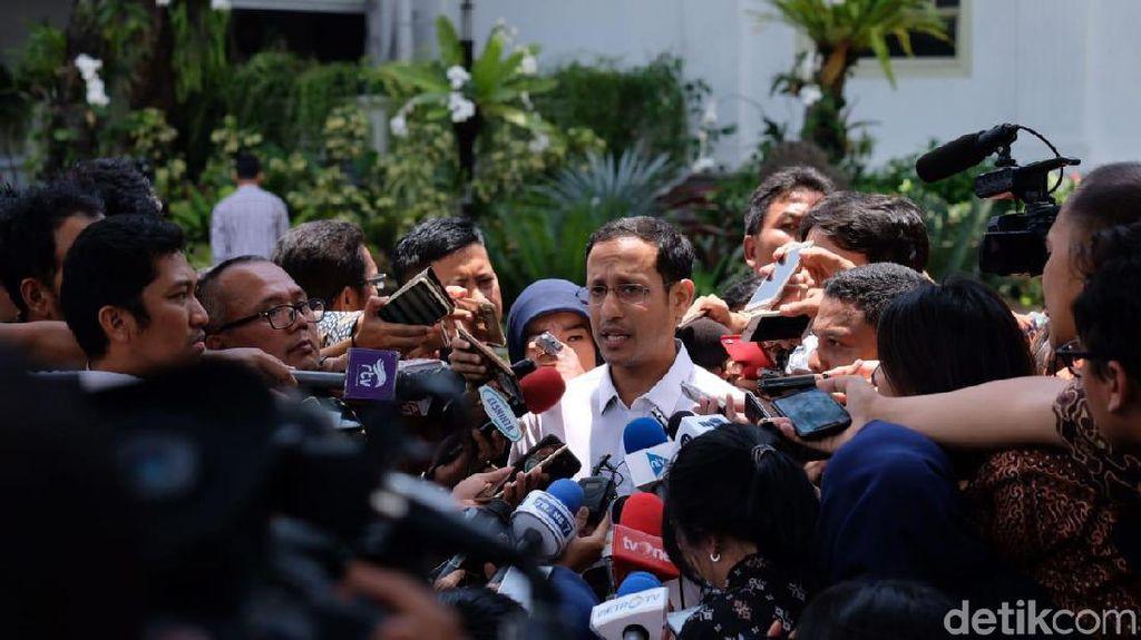 Pengalaman Nadiem Disebut Bisa Bantu Jokowi Cetak Lapangan Kerja