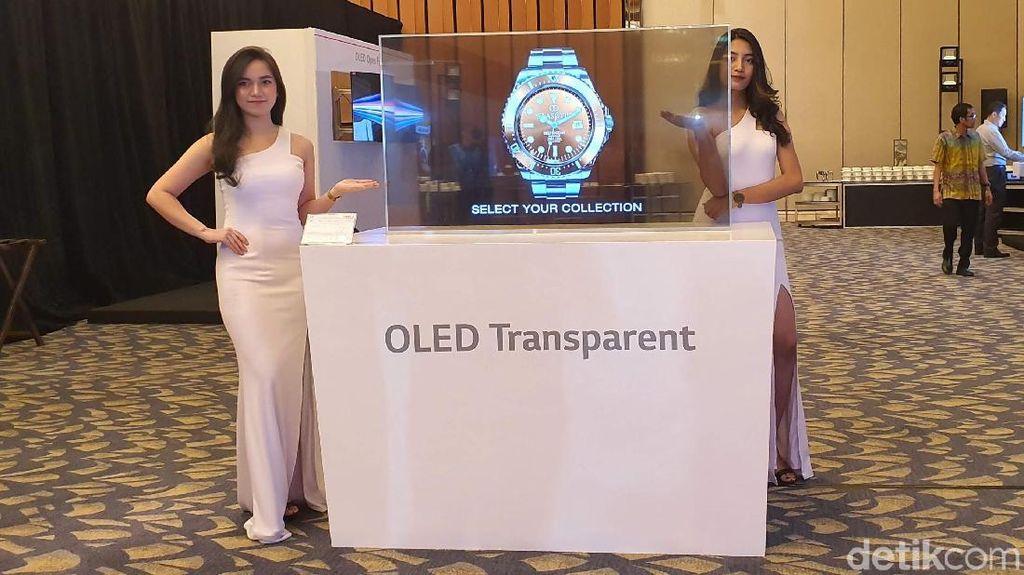 Panel OLED Tembus Pandang Milik LG Bikin Mata Terperangah