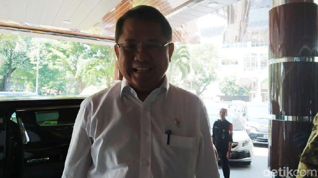 Jelang Pengumuman Kabinet, Rudiantara Jenguk Wiranto di RSPAD