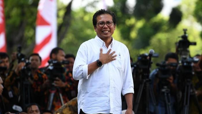 Foto: Stafsus Jokowi bidang komunikasi Fadjroel Rachman. (Antara Foto)