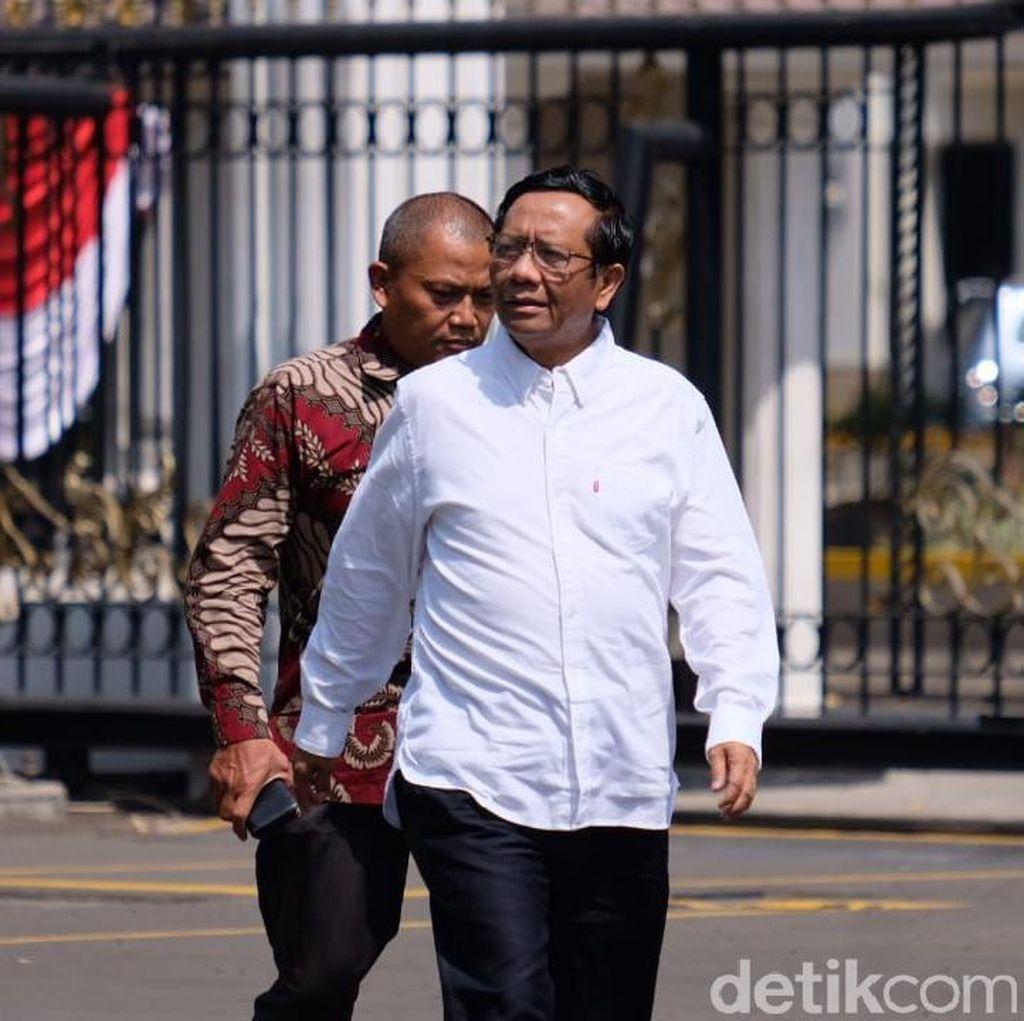 Jadi Menko Polhukam dari Sipil, Mahfud Yakin Bisa Sinergikan Menteri dari TNI