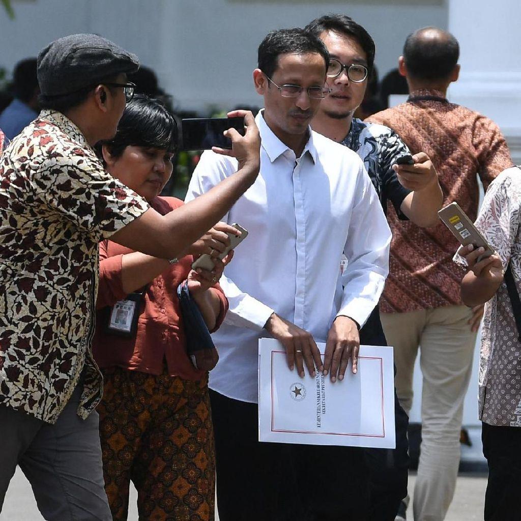 Harapan Ganjar Banyak Calon Menteri Muda Pilihan Jokowi
