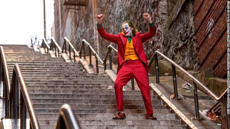 Tangga Joker Jadi Objek Wisata Dadakan. (Foto: Dok. Warner Bros)