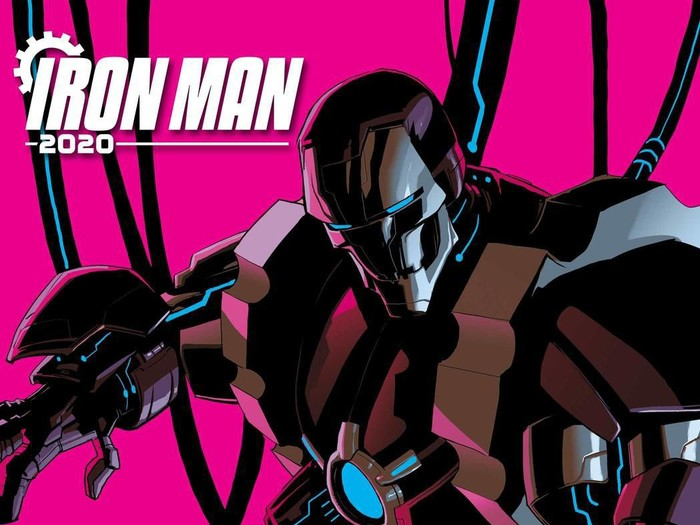 Komik Iron Man 2020