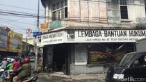Aktivitas di Kantor LBH Medan Normal Pasca-teror Molotov
