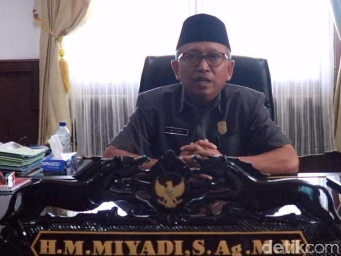 Ketua DPRD Tuban, Miyadi (Foto: Ainur Rofiq-detikcom)