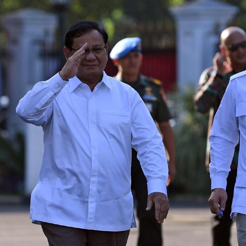 Prabowo Calon Menteri Pertahanan di Daftar Kabinet Jokowi, Ini Tugasnya