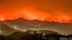 Pemadaman Api di Argopuro Terkendala Angin Kencang dan Medan Terjal