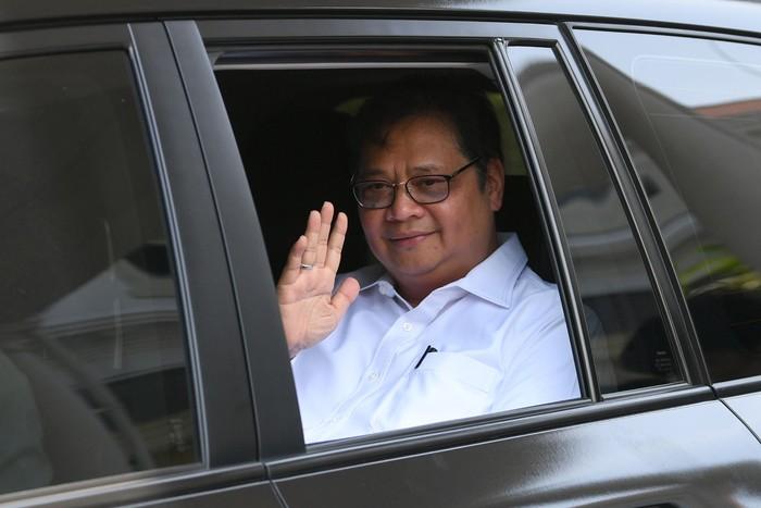 Airlangga Hartarto Diminta Kembali Jadi Menteri, Ini Profilnya Foto: Airlangga Hartarto (Antara Foto)