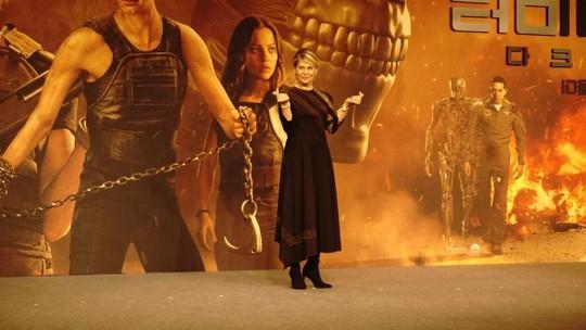 Kemeriahan Bintang Terminator: Dark Fate Premiere di Seoul