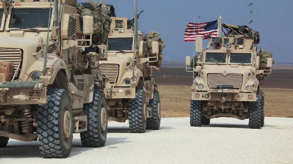 Trump Bilang Tentara AS Akan Ditarik dari Suriah, Ternyata Digeser ke Irak