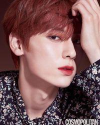 Penampilan Minhyun N'UEST Pakai Lipstik yang Dipuji Netizen