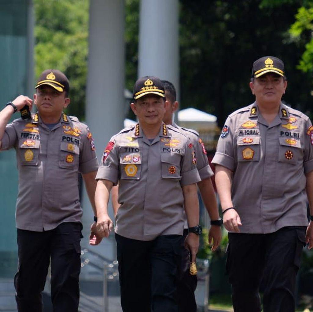 Tito Bakal Jadi Menteri, Ini Deretan Jenderal di Bursa Kapolri