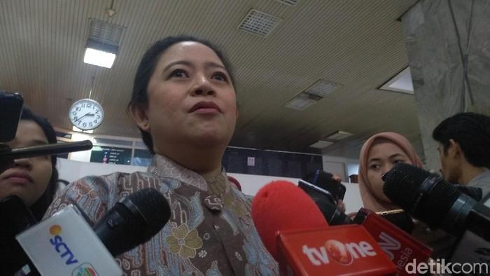 Foto: Ketua DPR Puan Maharani. (Azizah-detikcom)
