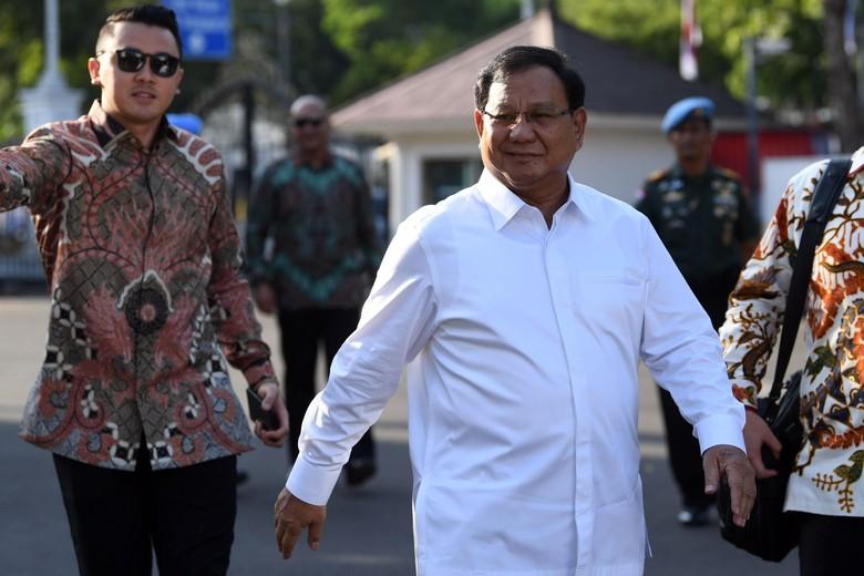 Prabowo Subianto. Foto: Antara Foto/Wahyu Putro A