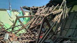 Atap SMPN 2 Ambruk, Dinas Pendidikan Ponorogo Janjikan Perbaikan 2020