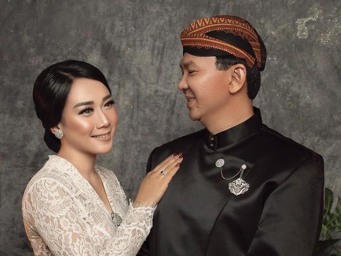 Foto pernikahan Ahok dan Puput. (Foto: Instagram/@fdphotography90)