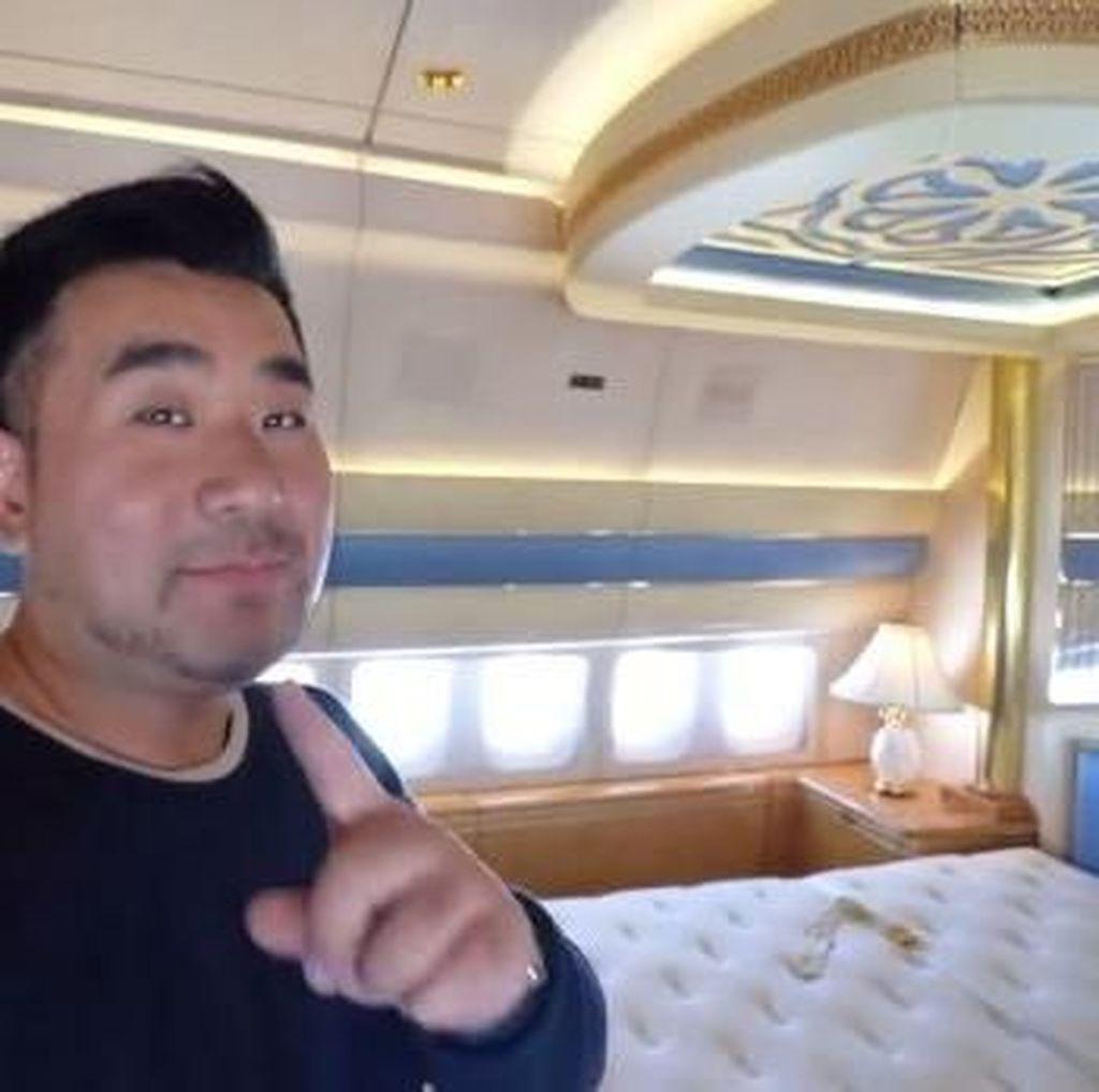 Foto: Mengintip Isi Jet Pribadi Kelas Sultan