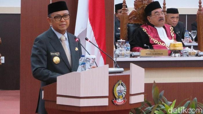 Foto: Gubernur Sulsel Nurdin Abdullah (Noval-detikcom)