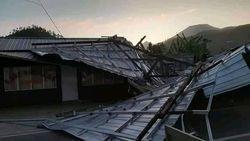 Angin Kencang Menghantam Tegal Semalam, 10 Rumah Rusak Berat