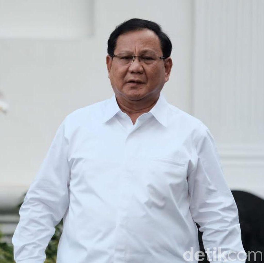 Bersedia Jadi Menhan, Prabowo Diyakini Intip Peluang Nyapres 2024