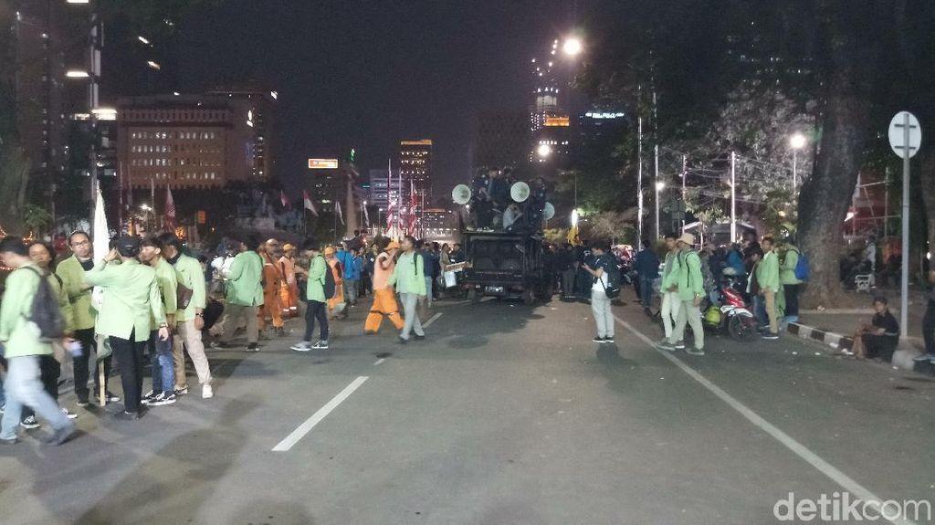 Usai Demo di Patung Kuda, Massa BEM SI Bubar