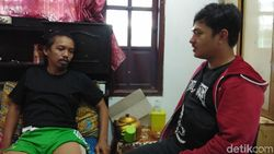 Cerita Ojol Makassar Belum Bisa Cari Nafkah Usai Tertabrak Mobil Polisi