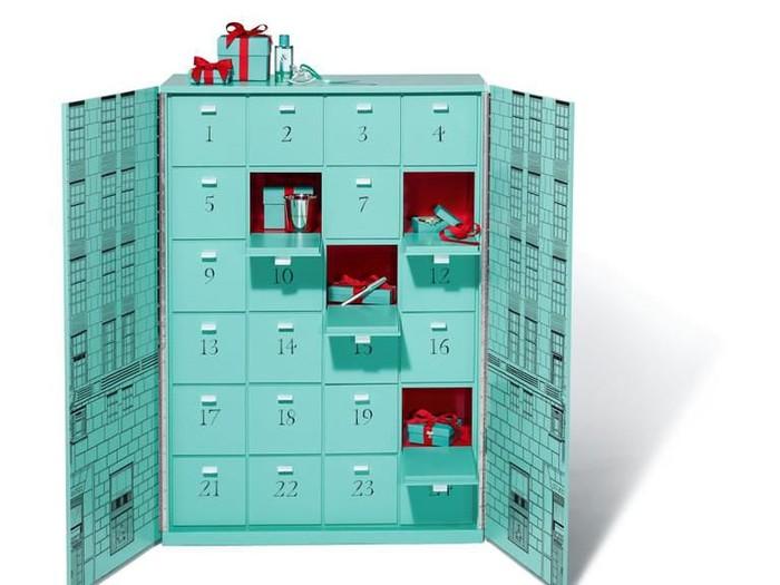 Kalender Advent Tiffany & Co. seharga Rp 1,5 miliar. (Foto: Dok. Tiffany & Co.)