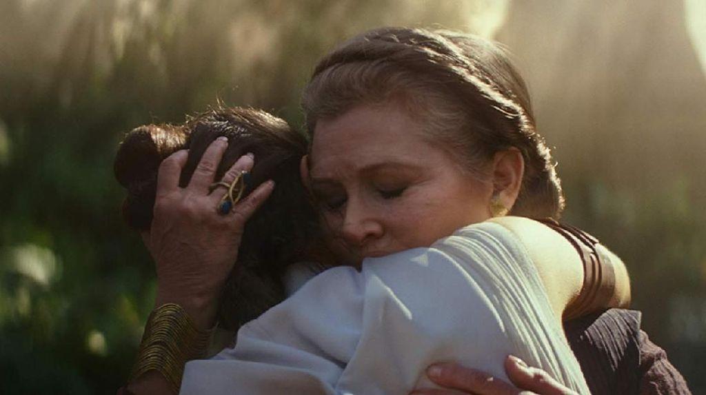 Daisy Ridley Didera Kesedihan Akting Tanpa Carrie Fisher yang Asli