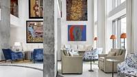 Yang pertama, ada Merchant House Hotel yang berdiri di Manama, ibu kota Bahrain. Masuk ke dalam hotel, traveler serasa seperti di dalam galeri seni mewah (dok. Istimewa)