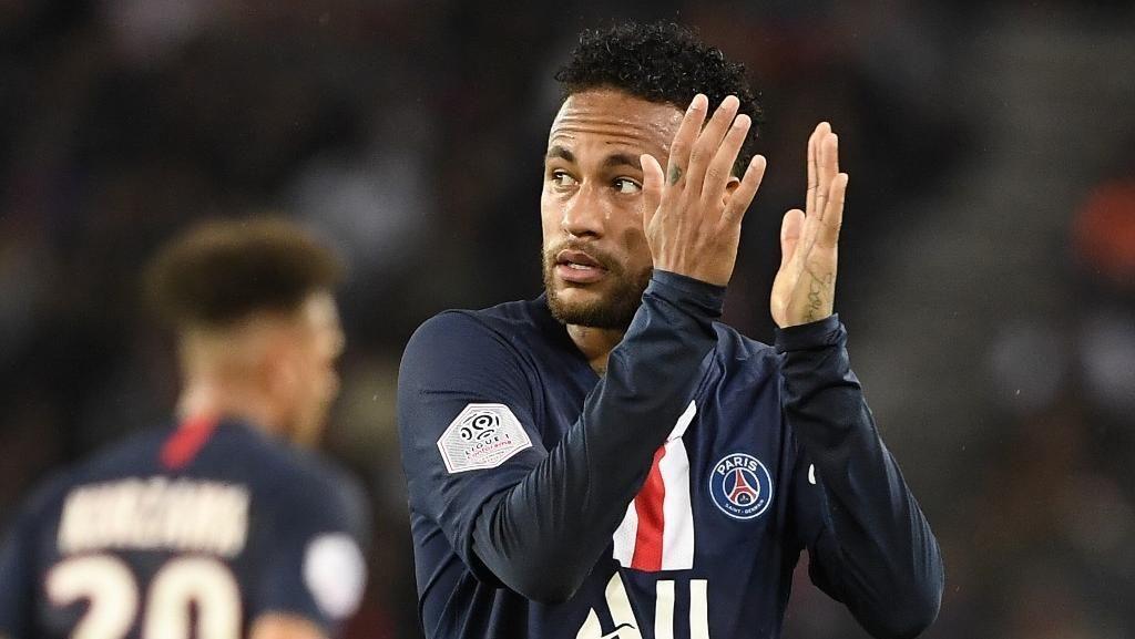 Neymar Sabar Tunggu Cinta Fans PSG Kembali