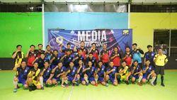 Jalin Sinergi dengan Media, Abipraya Tanding Futsal Bersama detikcom
