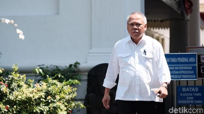 Calon Menteri PUPR Basuki dituntut memiliki fisik yang kuat karena harus sering blusukan. (Foto: Andhika Prasetia/detikcom)