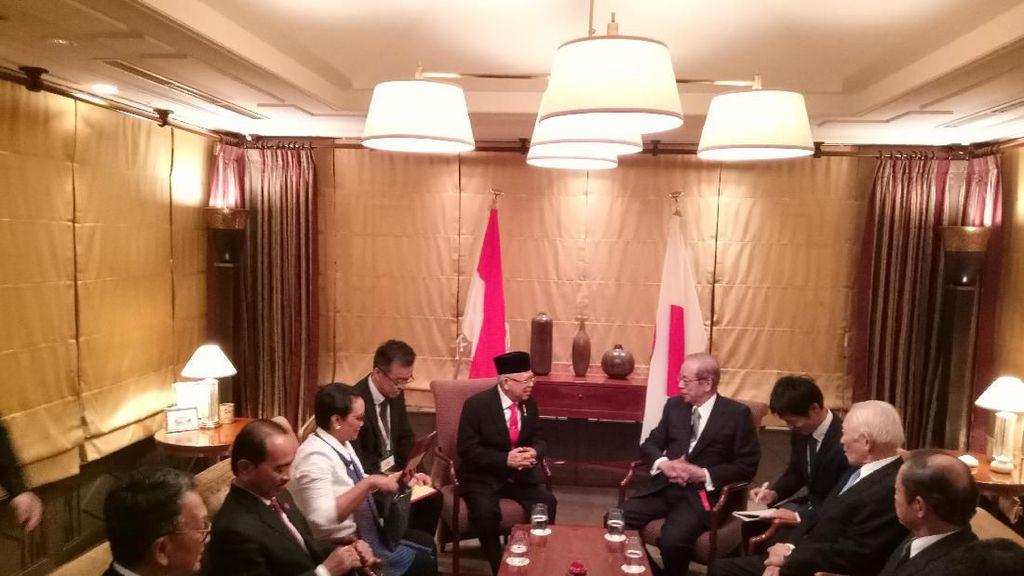 Bertemu Asosiasi Jepang-RI, Maruf Bahas Pembangunan dan Tenaga Kerja