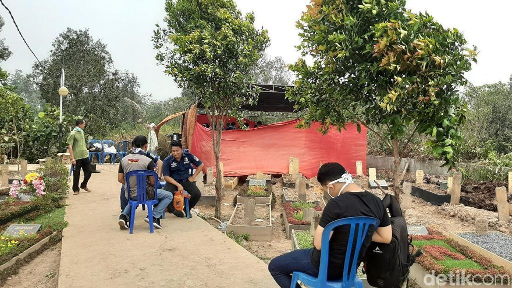 Diduga Dianiaya, Makam Mahasiswa Sumsel yang Tewas saat Diksar Menwa Dibongkar