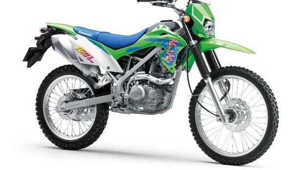 Kawasaki KLX150L Hijau